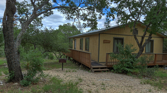 Alta Vista - Foxfire Cabins, Texas Hill Country Cabins on the Sabinal River. Biker friendly, Family Oriented, Pet Friendly