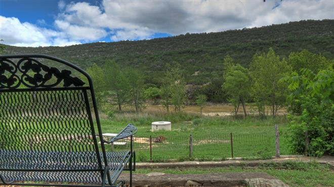 Farm House  - Foxfire Cabins, Texas Hill Country Cabins on the Sabinal River. Biker friendly, Family Oriented, Pet Friendly